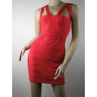 HL052 red sexy straps backless celeb bandage dress under $50