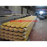 ASA synthetic resin tile