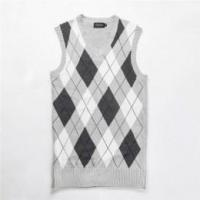 Buy cheap Men's argyle knitted pattern sleeveless sweater from wholesalers