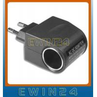 Buy cheap European 2 Pin Wall AC to DC 12V Car Cigarette Lighter Socket Adapter from wholesalers