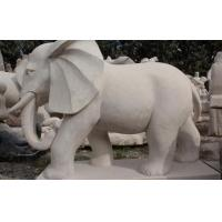 Buy cheap Marble Sculpture Marble Elephant Sculpture from wholesalers