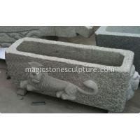 Buy cheap lion carved trough from wholesalers