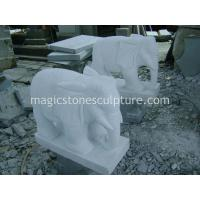 Buy cheap handcraft marble elephant from wholesalers