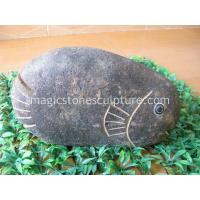 Buy cheap stone fish ornament from wholesalers