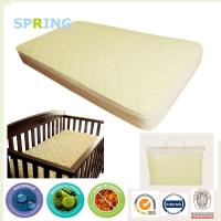Buy cheap QUILTED bamboo Waterproof BABY Crib & Toddler Bed MATTRESS COVER from wholesalers