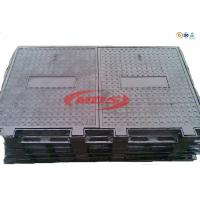 Buy cheap Cast nodular iron trench manhole covering from wholesalers
