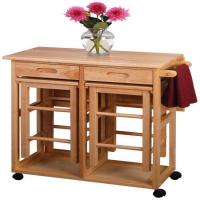 Buy cheap Winsome Space Saver - Drop Leaf Table with 2 Square Stools from wholesalers
