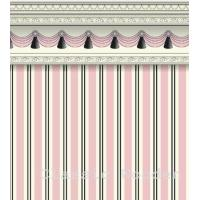 Buy cheap Doll houses Striped Wallpapers Wholesale from wholesalers