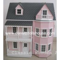 Buy cheap Wooden Victorian Dolls House Miniatures Toys OEM from wholesalers