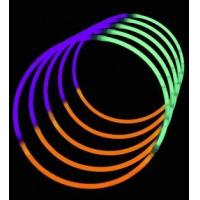 Buy cheap All Products ... 24 Inch Tri-Color Glow stick Necklaces - Green/Purple/Orange from wholesalers
