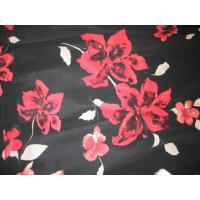 Buy cheap Printed Polyester Twisted Satin(Charmeuse) from wholesalers