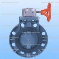 Buy cheap Plastic Valves Upvc butterfly valve gear type from wholesalers