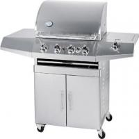 Buy cheap BBQ Grills-Gas Stainless Steel 4-Burner BBQ Gas Grill from wholesalers