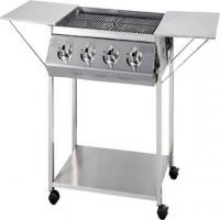 Buy cheap BBQ Grills-Gas 4-Burner Stainless Steel BBQ Gas Grill without Cover from wholesalers