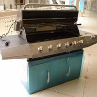 China 3-burners Grills CE Approved Stainless steel gas grill on sale