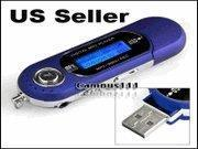 Buy cheap iRulu 8GB WMA MP3 Player FM Radio Voice Recorder-[AG104 Blue] from wholesalers
