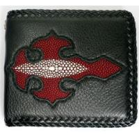 Buy cheap Biker Wallets Red Stingray Cross Wallet from wholesalers