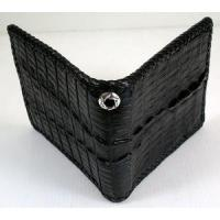 Buy cheap Biker Wallets Black Crocodile Wallet from wholesalers
