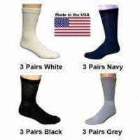 Buy cheap Women's Assorted Crew Diabetic Socks - 12 Pairs from wholesalers