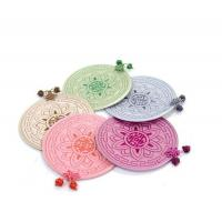 Buy cheap Quilted Chrsyanthemum Coasters - Pastel Colors from wholesalers