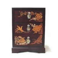 Buy cheap Inlaid 3-Drawer Chest - Apricot Blossoms from wholesalers