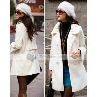 Buy cheap Tang Women Cashmere Double Breasted Coat Overcoat from wholesalers