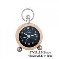 Buy cheap Wooden Color Alarm Clock AM0065D from wholesalers