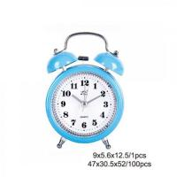 Buy cheap Blue Plastic Twin Bell Alarm Clock AM0009C from Wholesalers