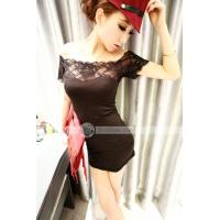 Buy cheap Dianice Fashionable Tight Retro Lace Hollow Patched Women Dresses from wholesalers