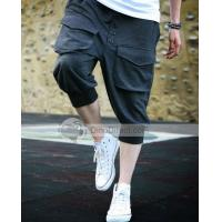 Buy cheap POPHOMME Cotton Cropped Harem Mens Pants from wholesalers