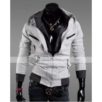 Buy cheap BQK Fashionable Zipper Hooded Long Sleeve Cotton Mens Sweatshirt from wholesalers