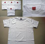Buy cheap Stock T-Shirt/Plain White T-Shirt Excess Inventory (stock blank white t-shirt ) from wholesalers