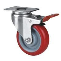 Buy cheap Swivel With Brake Caster Wheel product