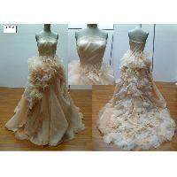 Buy cheap Special frillery tulle wedding dress from wholesalers