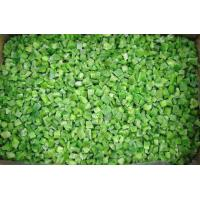Buy cheap IQF Green Pepper Diced from wholesalers