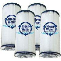 Buy cheap Four 4.5 x 20 Inch Pleated Dirt/Sediment Water Filter Cartridges from wholesalers