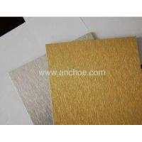 Buy cheap Anchoe Panel Brushed ALUBOND Aluminum Composite Panel from wholesalers