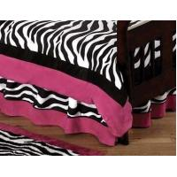 Buy cheap Pink Zebra Toddler Bed Skirt from wholesalers