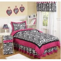 Buy cheap Pink Zebra Twin Bedding Set from wholesalers