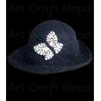 Buy cheap Black Hat with Butterfly from wholesalers