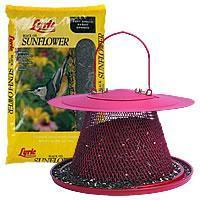 Buy cheap NO/NO Cardinal Wild Bird Feeder With Lyric Black Oil Sunflower Seed from wholesalers