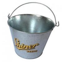 Buy cheap beer metal ice bucket oval from wholesalers