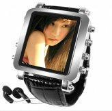 Buy cheap Mens Metallic Watch MP4 Player 1GB 1.5inch OLED from wholesalers