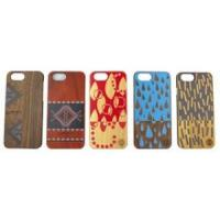 Buy cheap Natural Genuine Bamboo Wooden Colorful Paiting Pattern Phone Case for Iphone 6 / 6 Plus / 6s from wholesalers