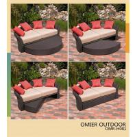 Buy cheap backyard outdoor daybed poly-wicker patio furniture OMR-H081 from wholesalers