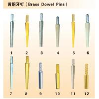 Buy cheap Brass Dowel Pins from wholesalers