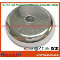 Buy cheap Sintered Hard Ferrite (Ceramic) and Steel Pot Magnet from wholesalers