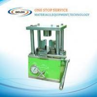 Buy cheap Cylindrical cell crimper Machine For 26650,32650 Cylinder battery crimping machine from wholesalers