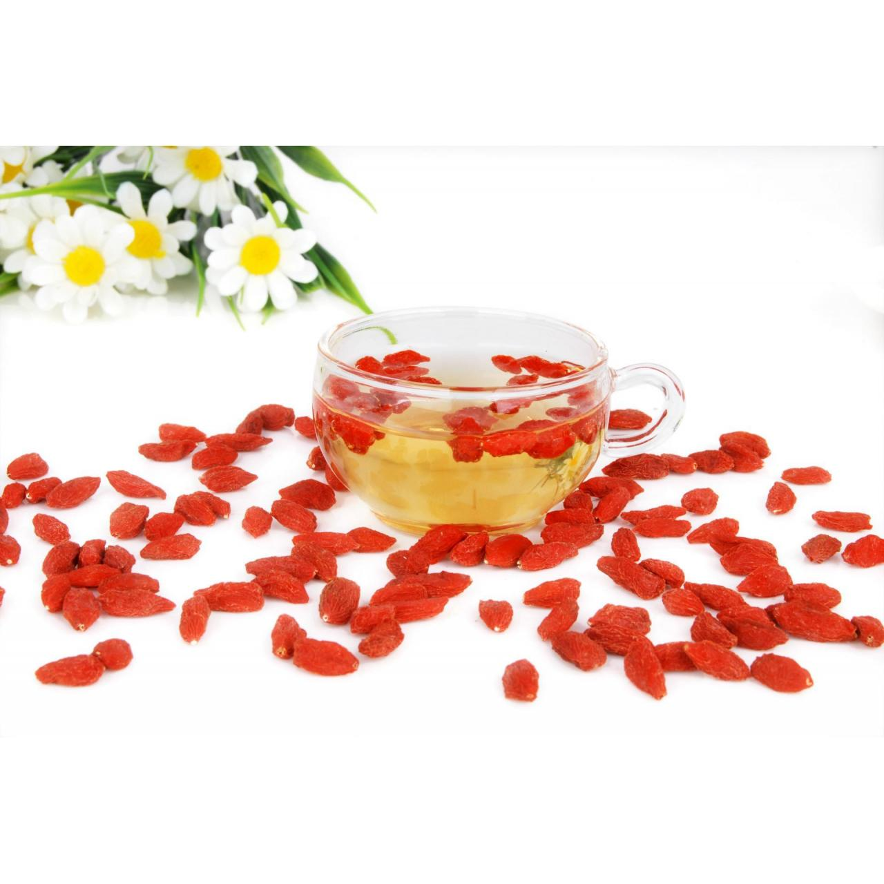Buy cheap Ningxia 500 Dried Goji berry fruit Dried fruit Goji berry wolfbery from wholesalers