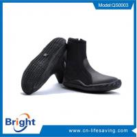 Buy cheap 5mm neoprene snorkeling diving shoes scuba boots from wholesalers